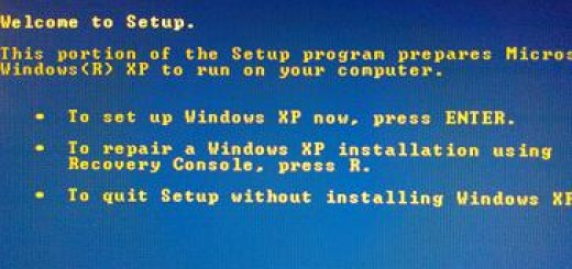 How to repair Windows XP using recovery console